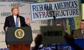 Busca Trump inversiones millonarias en infraestructuras
