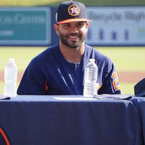 Los Astros de Houston oficializaron pacto con José Altuve