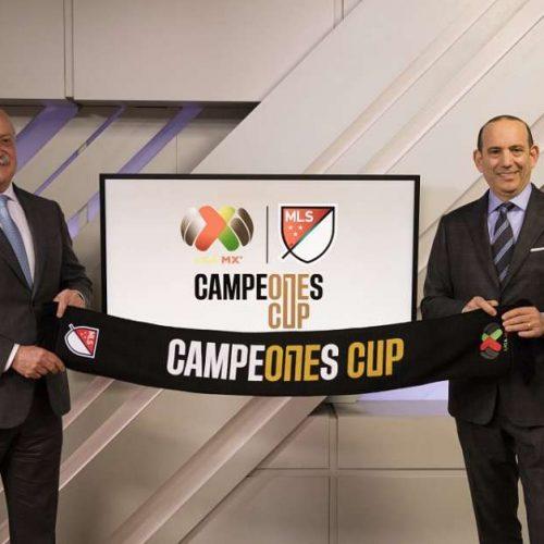 MLS y Liga MX presentan el torneo Campeones Cup