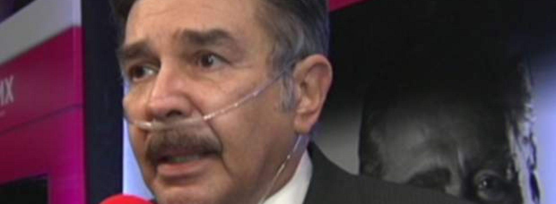 Jorge Ortiz de Pinedo está hospitalizado con neumonía