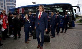 Perú aterrizó en Rusia para disputar su primer Mundial después de 36 años