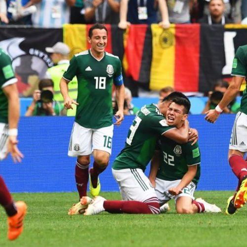 México logra histórico triunfo frente a Alemania