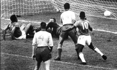 El primer gol de Pelé en una Copa del Mundo cumple 60 años