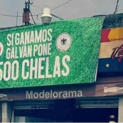 Prometen regalar miles de chelas si gana México y cumplen