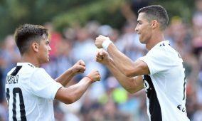 Cristiano Ronaldo debuta con la Juventus y marca su primer gol
