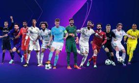 Cristiano, Salah y Messi, nominados a mejor delantero de la Champions