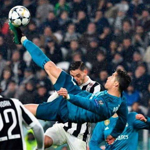'Chilena' de Cristiano Ronaldo nominada a 'Gol del año' en UEFA