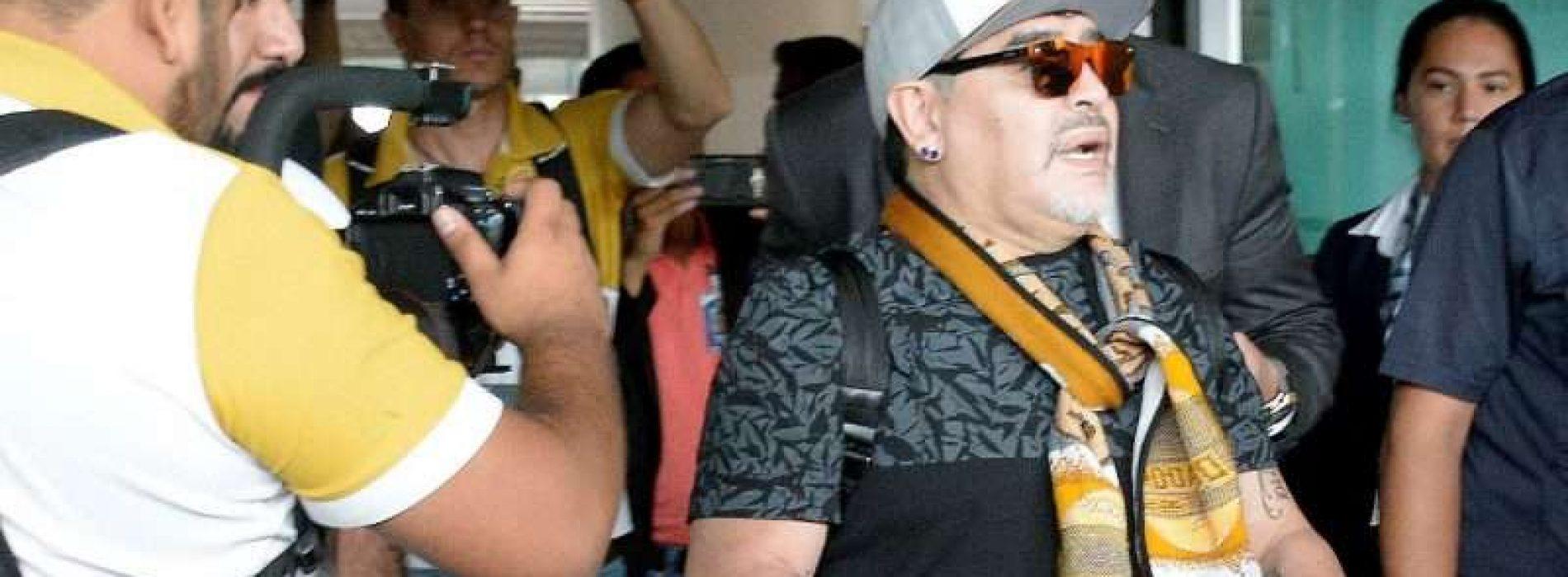 Maradona y México: una relación de amor-odio que tiene un nuevo episodio