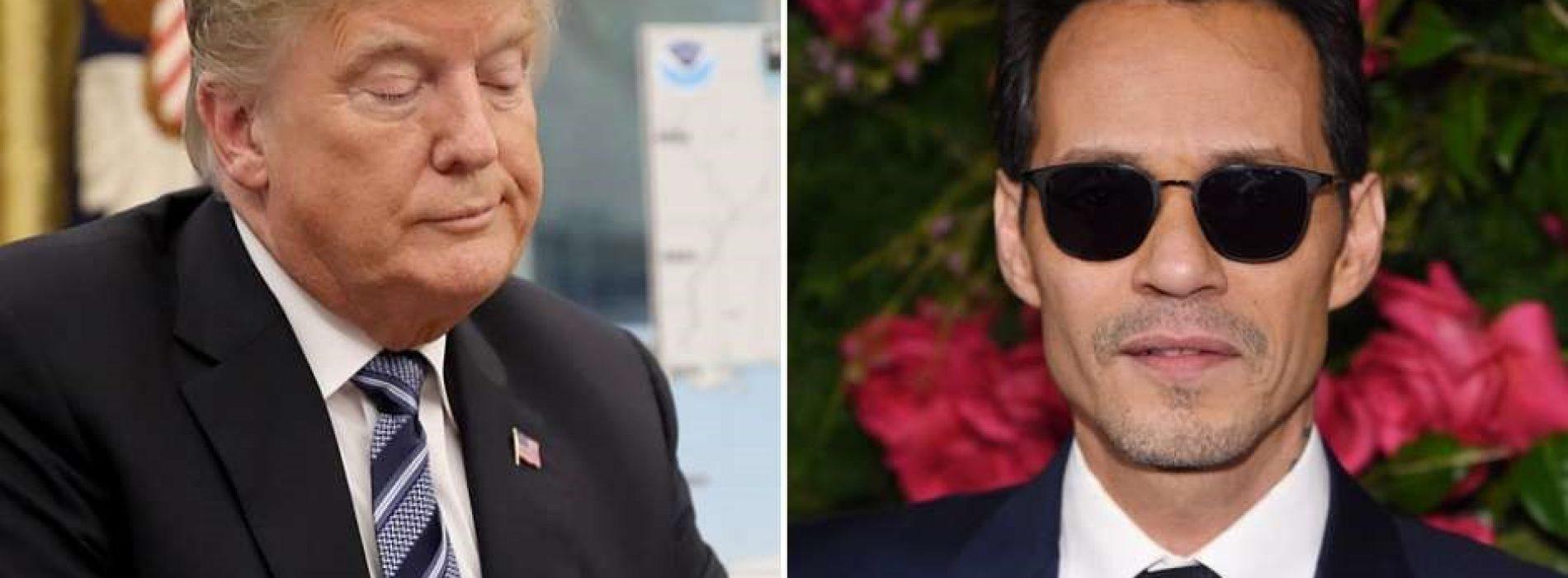 El durísimo ataque de Marc Anthony contra Donald Trump